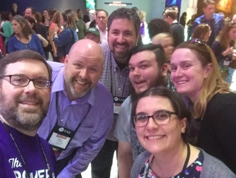 Picture of Colleagues at #NACADA16